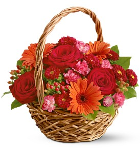 Burnt Orange Basket