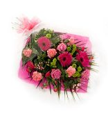 Bright Pink Gerbra Bouquet