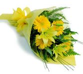 Yellow Gerbera & Lily Bouquet