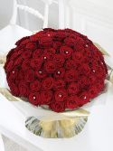 100 Roses Hand tied